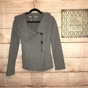 Lucky Brand Gray Women's XS cape Jacket